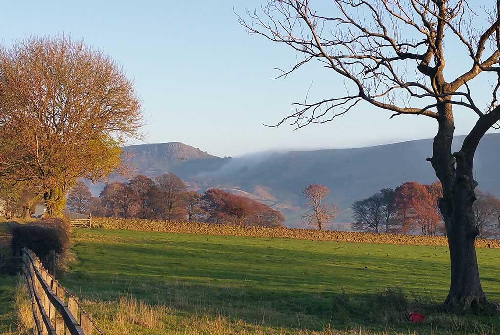 The Great Ridge From Ollerbrook