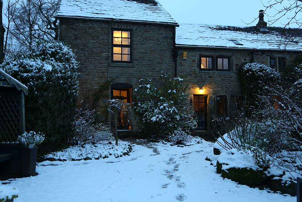 A Winter's Evening at Ollerbrook
